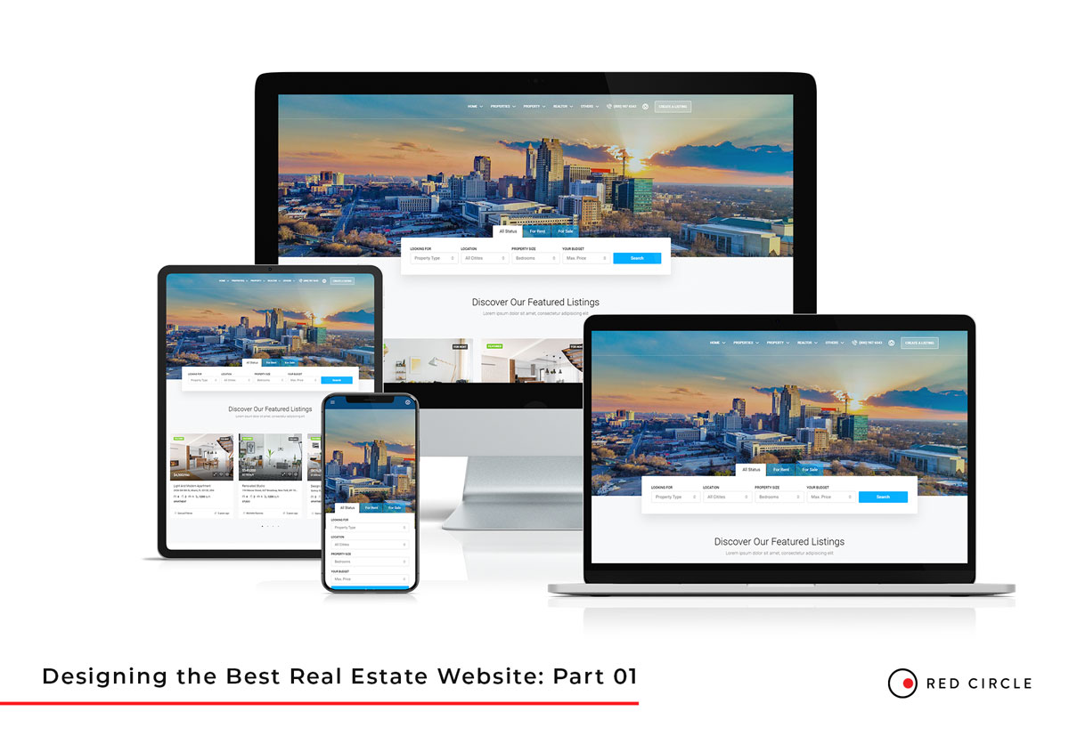 Raleigh Real Estate Website Design Part 1